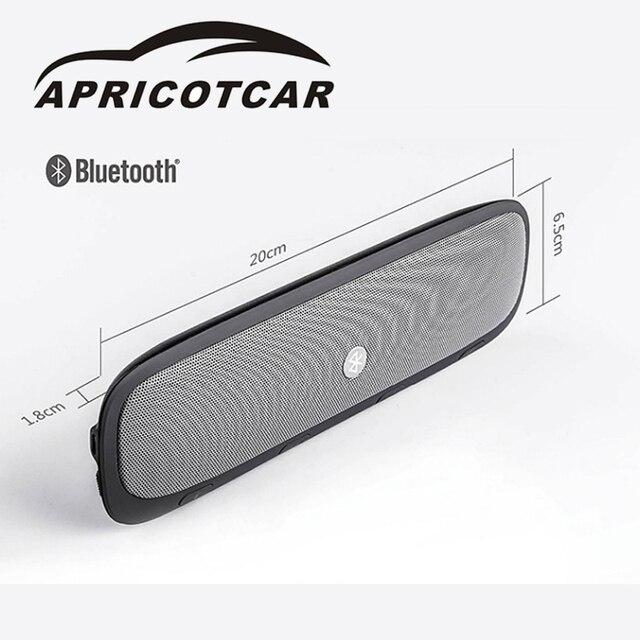 Apricotcar New Direct Deal Auto Parts Sunvisor Wireless Bluetooth