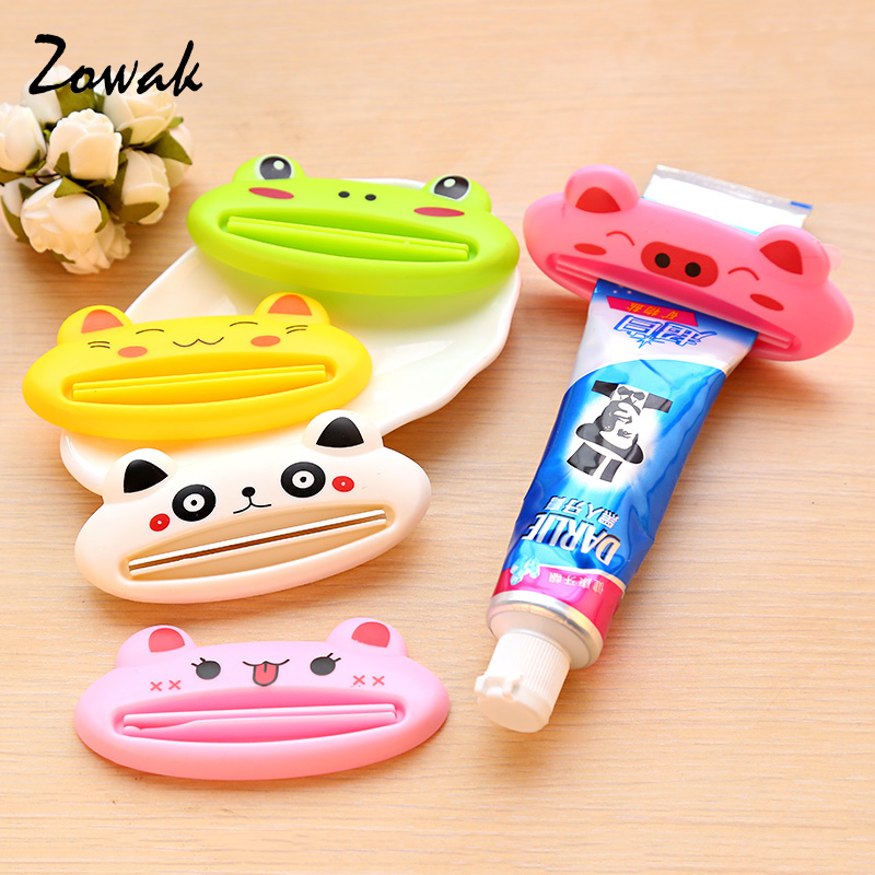 Animal Toothpaste Squeezing Clip Holder Paste Design Bathroom Set Dispenser Tooth Paste Squeezer Tube Partner holder Home Tooth ...