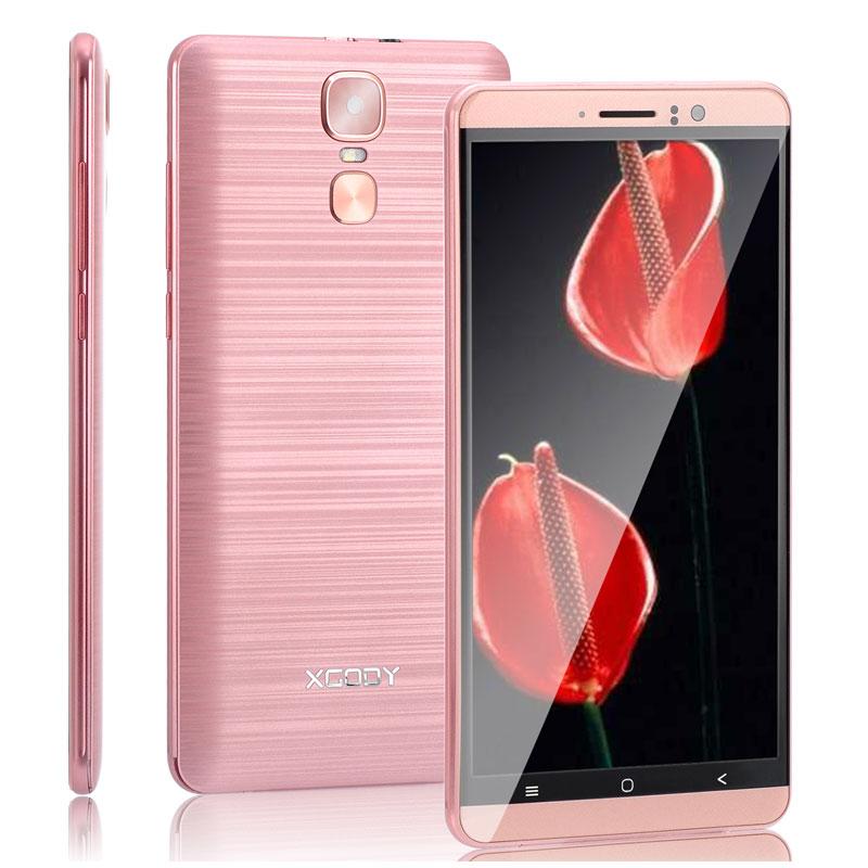 XGODY Smartphone 6.0 pouces Quad Core double cartes SIM 1 GB RAM + 8 GB ROM Android 5.1 MTK6580 WCDMA 3G téléphones portables débloqués - 5