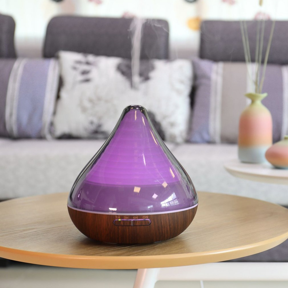 300ML Air Humidifier Electric Essential Oil Diffuser Ultrasonic Aromatherapy Aroma oil Diffuser Large Capacity for Home Office hot sale humidifier aromatherapy essential oil 100 240v 100ml water capacity 20 30 square meters ultrasonic 12w 13 13 9 5cm