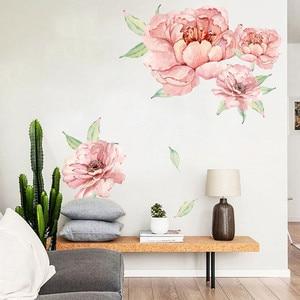 Peony Rose Flowers Wall Art St