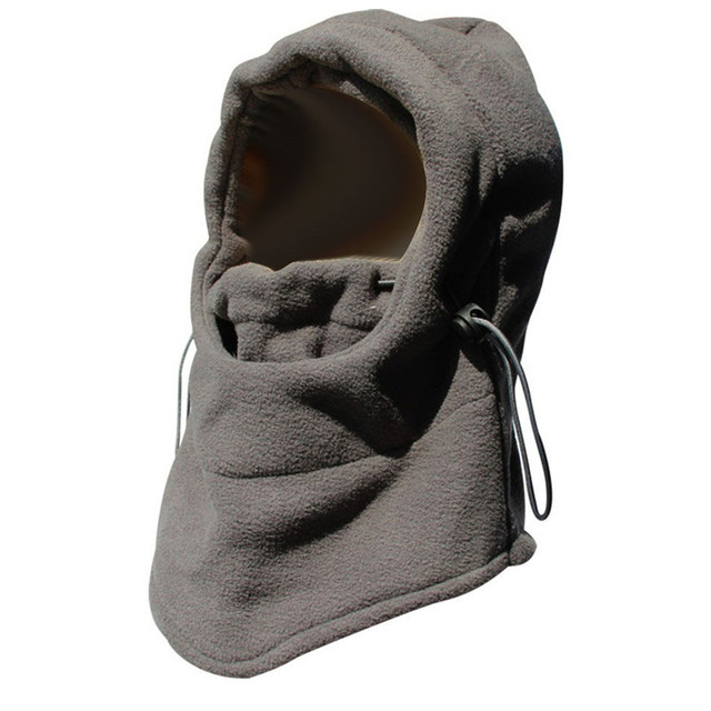 Outdoor Sports Thermal Neck Balaclava Hat Winter Windproof Skiing Ear Warm Mask Motorcycle Bicycle Scarf
