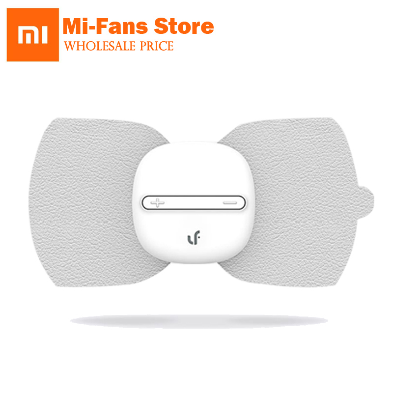 Xiaomi marca LF portátil estimulador eléctrico masajeador pegatinas de cuerpo completo masaje mágico terapia relajar músculo para los trabajadores de oficina