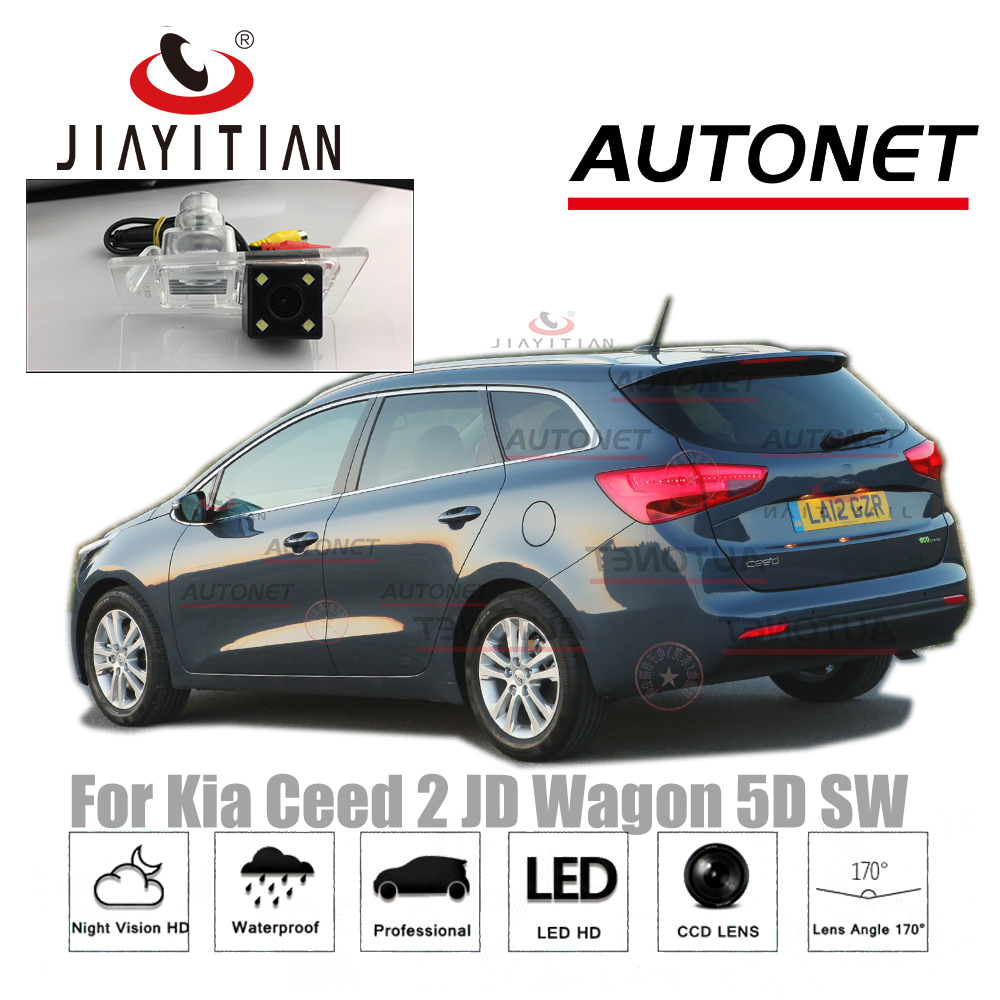 JIAYITIAN Rear View Camera For Kia Ceed 2 JD Wagon SW 5D 2012~2018 CCD Night Vision Reverse Camera License Plate Camera Backup