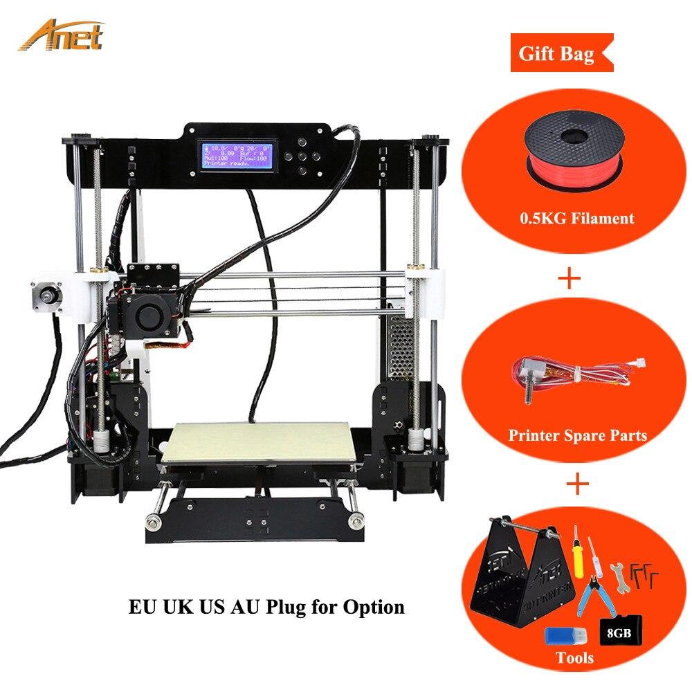Easy Assemble Diy Metal Garage Or Shop: Easy Assemble Anet A8 3D Printer Kits I3 Kit DIY Kits 3D