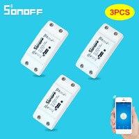 3PCS Lot Sonoff Basic 10A Wifi Smart Switch Remote Wireless Light Power Switch Intelligent Universal DIY