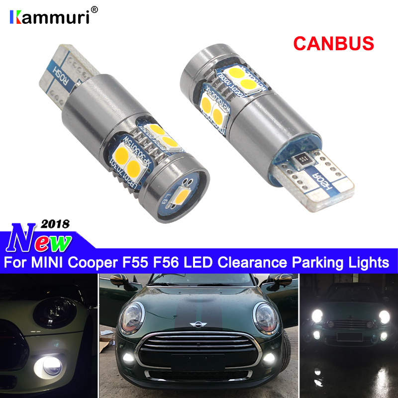 Canbus T10 W5W LED Clearance Parking Lights for mini Cooper F54 F55 F56 R50 R52 R53 R55 R56 R57 R58 White red yellow crystal blu abs wheel speed sensor rear front l r for mini cooper r50 r52 r53 34526756385 34526756384