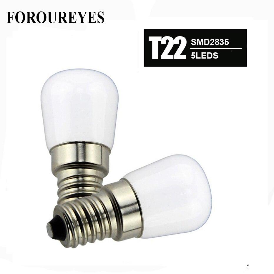 4pcs E14 Refrigerator LED lighting SMD2835 5LEDS bulb AC220V Bright indoor lamp for Fridge Freezer Crystal chandeliers Lighting mini e14 led refrigerator lights smd5050