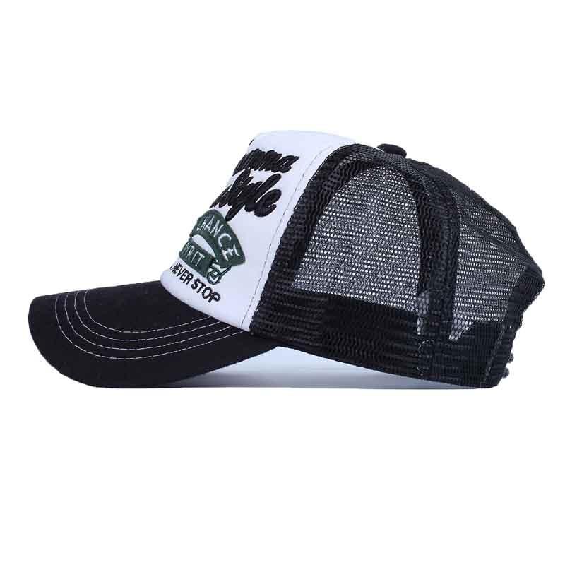 Summer Embroidery Baseball Cap For Women Outdoor Sunscreen Mesh Caps Casual  Sport Snapback Hat Men Hip Hop Cap Gorras Hats -in Baseball Caps from  Apparel ... 7aa7a256908