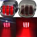 Для Dyna Fat Boy FLSTF ночной поезд FXSTB Softail Sportster Road King Electra Glide Road Glide мотоциклетный светодиодный Стоп задний фонарь