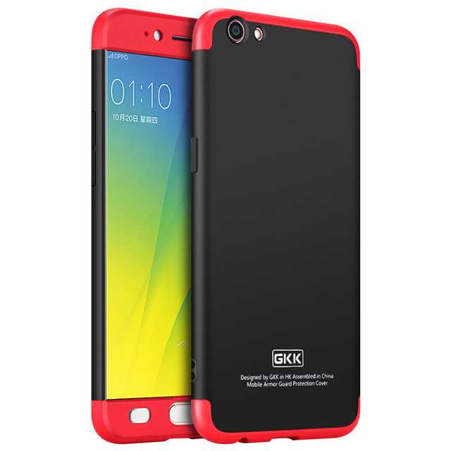 premium selection 3200d 5b63a US $7.96 |OPPO F1s A59 Case 360 full protection 3in1 Phone Case For Oppo  R9s plus Case Slim Cover A 59 Cases Fundas Black china red-in Fitted Cases  ...