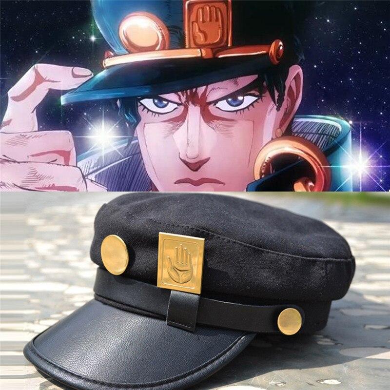 Halloween Cosplay Jojo Bizzare Adventure Cap Kujo Jotaro Anime Show COS Hat