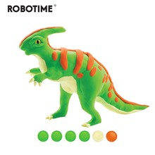 Robotime Creative DIY Polymer Paractenosaur Clay Slime Fluffy Light Soft Plasticine Toy Modelling Clay Playdough Slime Toys FY06(China)