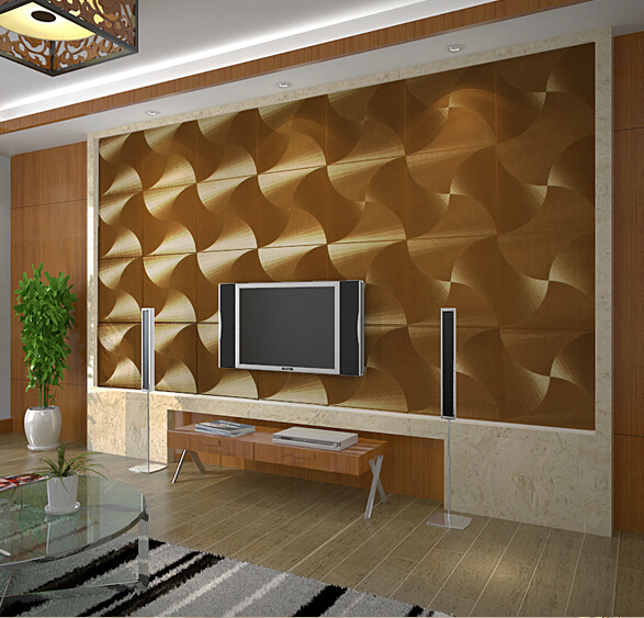 Buy modern luxury gold wallpaper pvc for Gold wallpaper living room