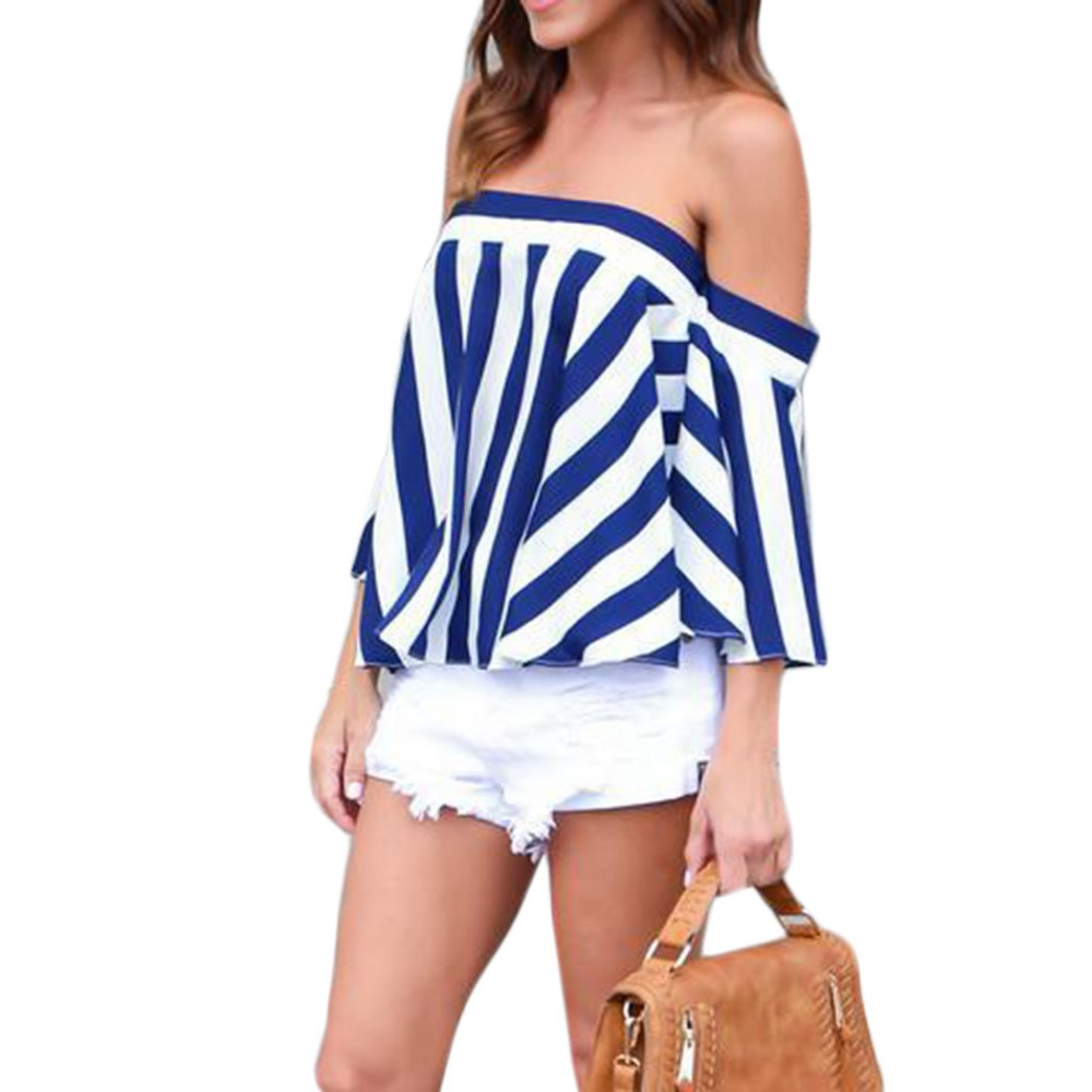 Half Shoulder Tops Promotion-Shop for Promotional Half Shoulder ...