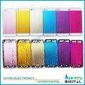Color de la cubierta completa para el iphone 5s frame medio carcasa tarjeta con la contraportada,, 100% gurantee