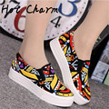 Good quality Women canvas shoes 2016 Summer colorful Women Shoes Flats Breathable Casual shoes Women Zapatillas Mujers