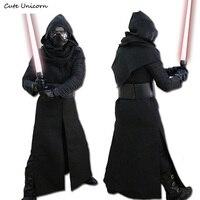 Star Wars 7 The Force Awakens Full Set Kylo Ren Cosplay Costumes Mens Uniform Jedi Knight