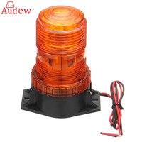 12 30V 30LED Working Light Car Truck Magnetic Warning Light Flash Beacon Strobe Emergency Lamp Amber