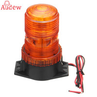 12 30V 30LED Working Light Car Truck Magnetic Warning Light Flash Beacon Strobe Emergency Lamp Amber