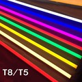 2pc PVC LED Tube T5 T8  Integrated Light 220V 240V 300mm 5W 600mm 1ft 2ft 9W T5 LED Tube Wall Lamps Cold Warm White T5 Light 8W