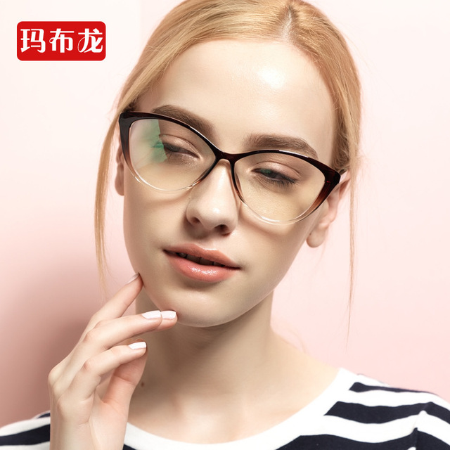 0de910af40 Free prescrption filling nearsighted optician prescription cat eye glasses  frames shortsighted eyeglasses optical eyewear 5865