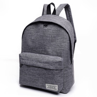AUGUR Canvas Men Women Backpack College High Middle School Bags For Teenager Boy Girls Laptop Travel
