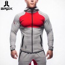 Mens Bodybuilding Hoodies  Brand-clothing Workout Shirts Hooded  Tracksuit Men Chandal Hombre Gorilla wear Animal