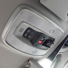 Светильник для чтения на крышу из нержавеющей стали, Накладка для Volvo C30 S40 V50 V70 S80 XC60 XC70