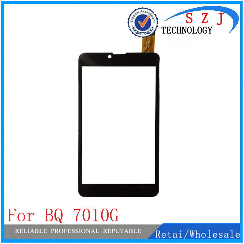 New 7'' Inch Capacitive Touch Screen Panel Replacement For BQ <font><b>7010G</b></font> Max 3G YJ371FPC-V1 Digitizer External Free Shipping 10pcs image