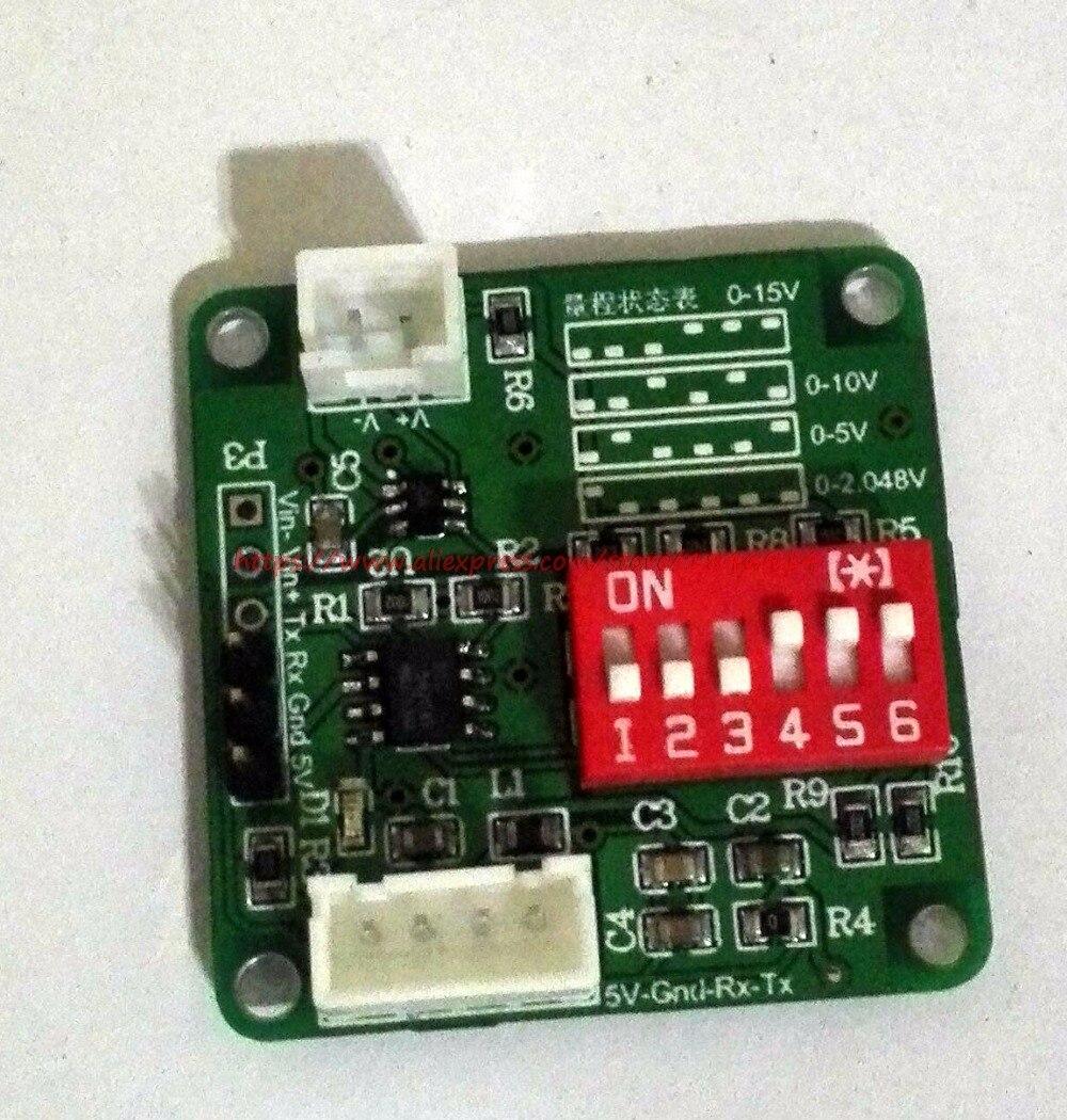 Module de développement de carte d'acquisition de données ADC de MCP3421-18, 24 bits ads1256, 18 bits
