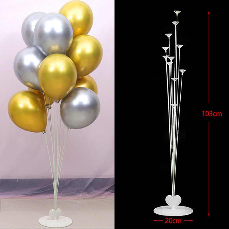 Свадебные украшения подставка для воздушных шаров держатель колонки палка балон воздушный шар для детей клей точка Арка Декор для вечеринки в честь Дня Рождения Globos