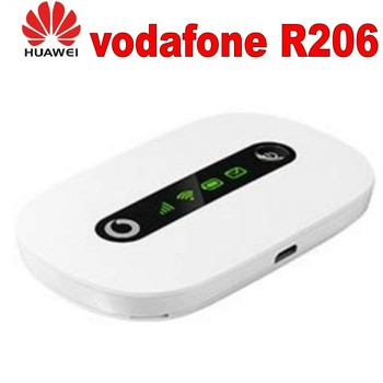 цена на Lot of 100pcs Unlocked Huawei  Vodafone R206 21.6Mbps 3G HSPA UMTS Wireless Router Pocket WiFi