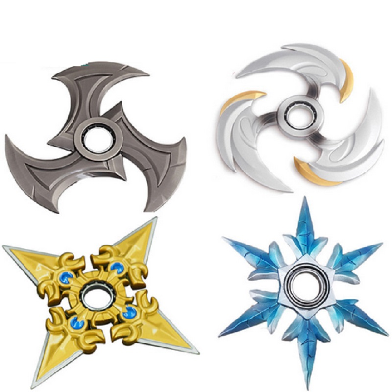 1pcs Cool Game Genji Darts Alloy Metal Weapon Model Rotatable Darts Cosplay Props for Collection Spinner cool game genji darts alloy metal weapon rotatable darts cosplay props for collection fidget spinner hand anti stress kf028