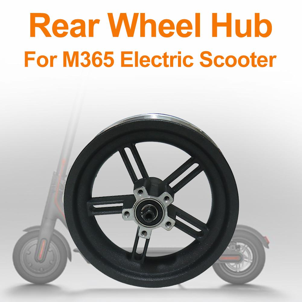 New Technology Electric Scooter Wheel Hub Aluminum Rear Wheel Hub With Original Axle For Xiaomi M365 Scooter Parts