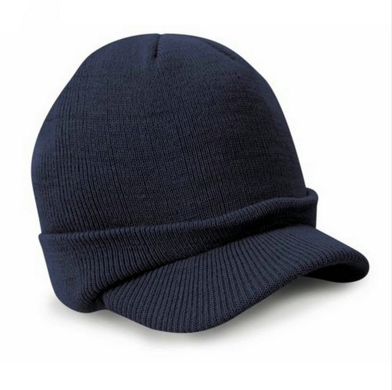 Gaya busana Tentara Topi Laki-laki Topi Musim Dingin Dengan Visor - Aksesori pakaian - Foto 3