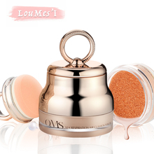 Loumesi air cushion powder Whitening flawless air cushion bb cc cream  make up primer face foundation base Makeup