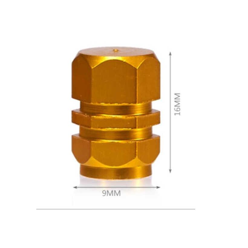 4 sztuk/paczka opona samochodowa trzonki zaworu koło automatyczne dekoracje nakrętka ze stopu metali opona hermetyczna osłona akcesoria uniwersalne