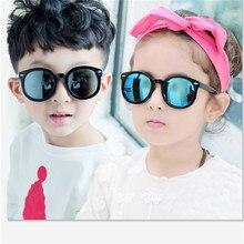 47c4cba13 2019 أزياء العلامة التجارية الأطفال سوداء الاطفال النظارات الشمسية فوق  البنفسجية حماية الطفل نظارات شمسية الفتيات الفتيان نظارات
