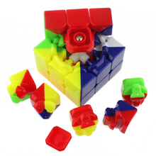 Strengthened Version Magic Cube Speed Square Puzzle Cubes Colorful Learning&Educational Puzzle Cubo Magic Classic Toys(China)