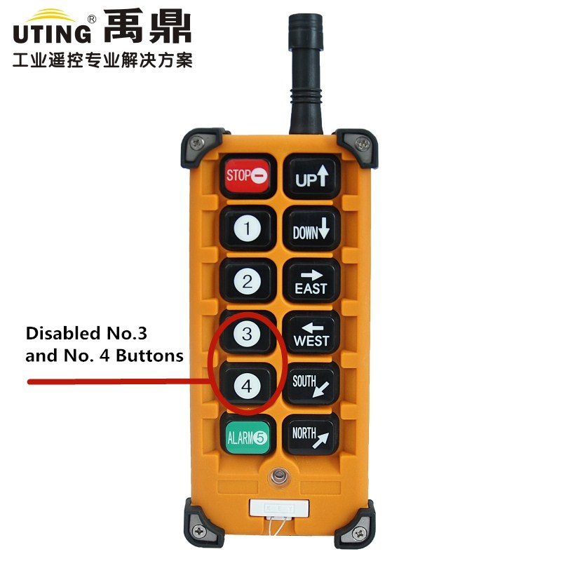 Telecontrol F23-A++ industrial radio remote control AC/DC universal wireless control for crane 1transmitter and 1receiver