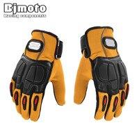Winter Warm Motorcycle Gloves Motorcross Street Bike Gloves Waterproof Windproof For Kawasaki Protective Gloves Guantes Moto