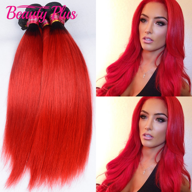 7a ombre red brazilian remy hair 3 bundles dark roots red human 7a ombre red brazilian remy hair 3 bundles dark roots red human hair extensions silky straight ombre red brazilian hair weaving in hair weaves from hair pmusecretfo Image collections