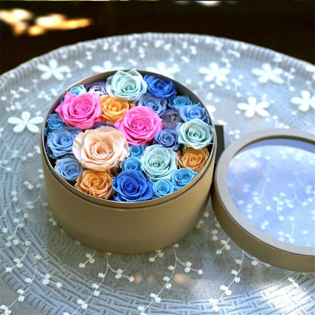 Mutter der Tag diy geschenke diy Konservierte blumen material Runde ...