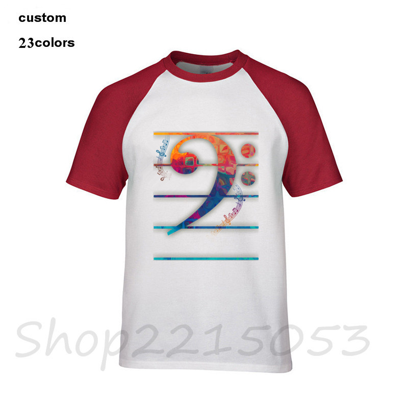 Toddler Colorful Bass Clef Onesies Outfits