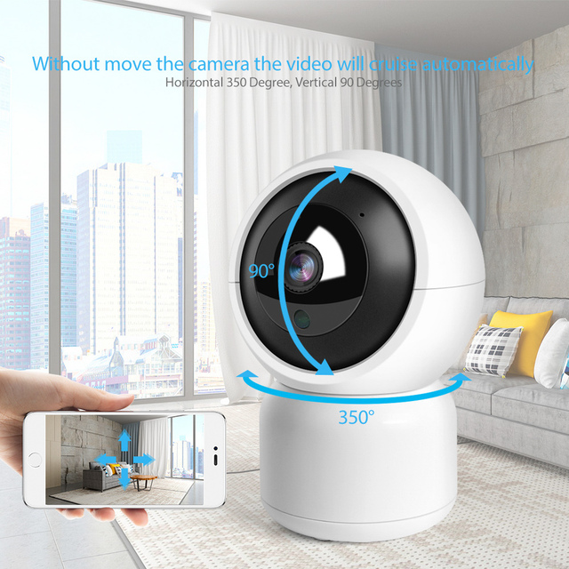 HD 1080P WIFI IP Camera 1.0MP 2MP Baby Monitor Auto Tracking Home Security WI-FI Cam PTZ Two Way Audio Surveillance CCTV Camera 2