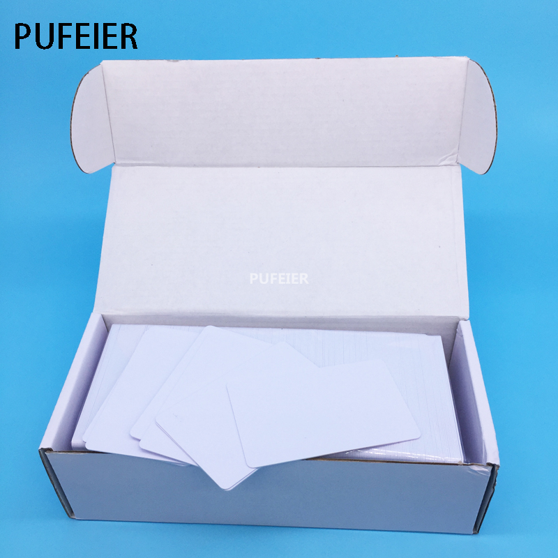 Directly Printing Inkjet Blank PVC Card For Epson Printer R265 R310 R320 R350 R390 Double Side Printable PVC ID Cards 230pcs/box lace design white flower rose invitation card kit for wedding paper blank printing invitations cards set party festivals invite