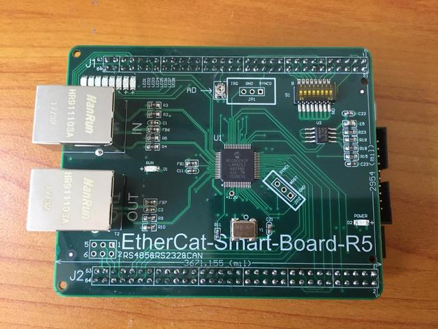 EtherCat-Smart-Board development board STM32F407+LAN9252 learning board  version fifth release