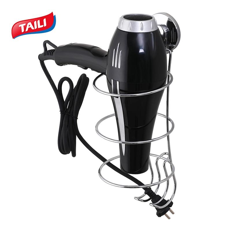 Цхроме вакуумски усисни држач за косу - Кућно складиштење и организација