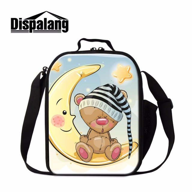 Dispalang Insulated children lunch bag family picnic bag cartoon lunch box storage food bag thermal lunch containers for office
